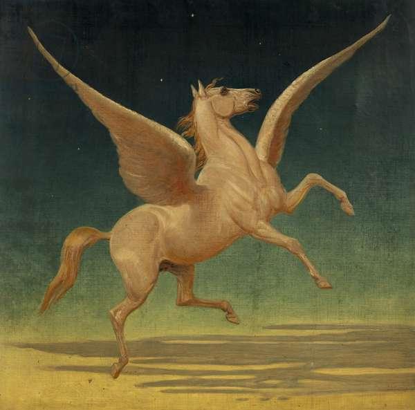 Pegasus (oil on canvas)