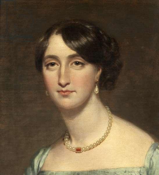 Portrait of Fanny Kemble, c.1830 (oil on canvas)