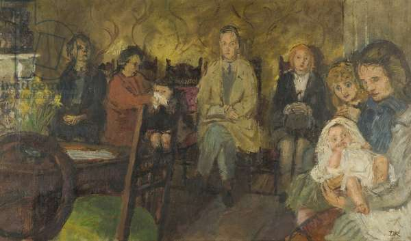 The Doctor's Waiting Room, 1946 (oil on canvas)
