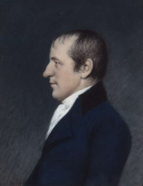 William Godwin, 16/11/1801 (pastel on grey paper)