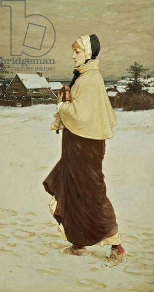 Priscilla, 1879 (oil on canvas)