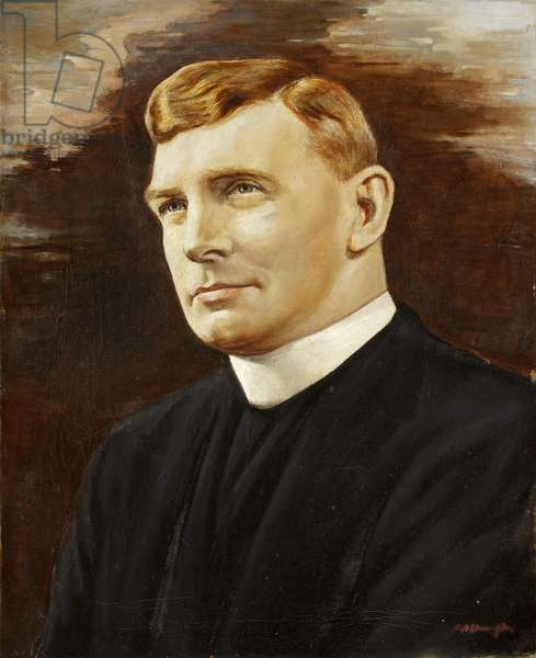 Portrait of Canon Cole, c.1963 (oil on canvas)