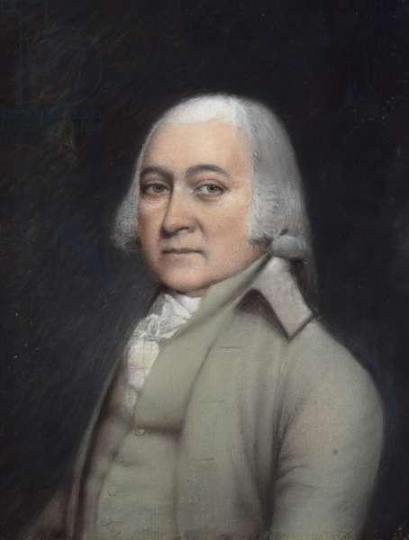 John Adams, 1797 (pastel on grey paper)