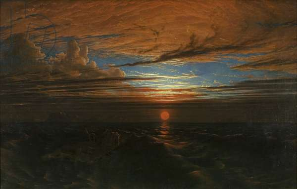 Sunset at Sea after a Storm, 1824