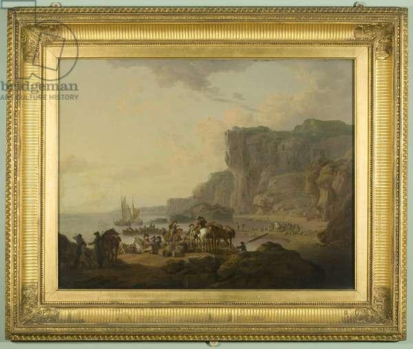 View of Flamborough Head, c.1810 (oil on canvas)