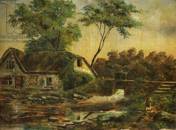 St Anne's Mill, 1886 (oil on canvas)