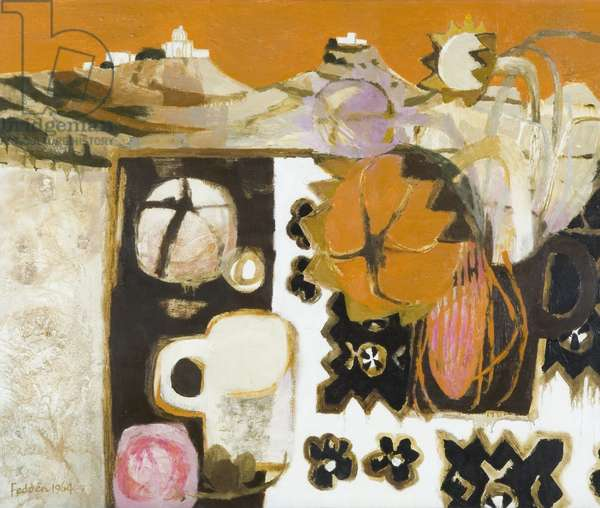 Still Life in Gozo, 1964 (oil on canvas)