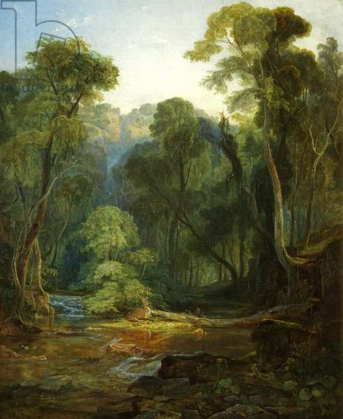Coombe Glen, near Bristol, 1831 (oil on canvas)