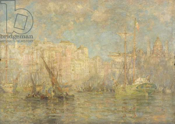 Genoa, 1915 (oil on canvas)