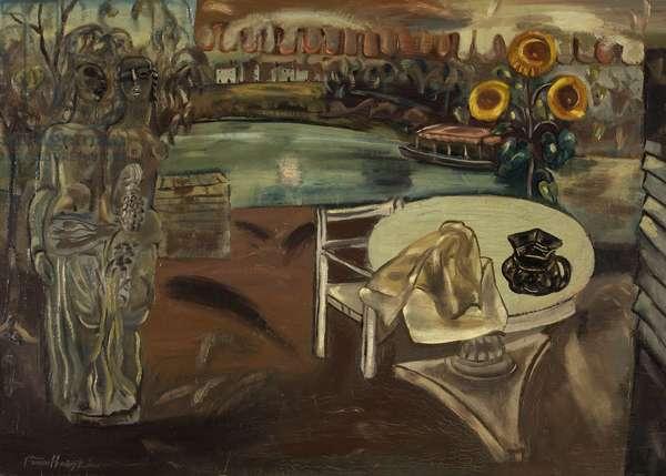Sabrina's Garden, c.1934 (oil on canvas)