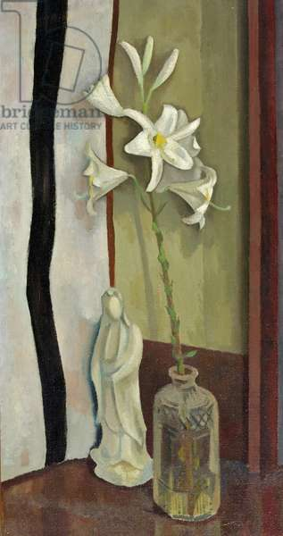 Lilies, 1917 (oil on canvas)