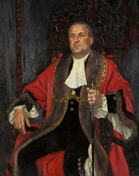 Alderman Brown (oil on canvas)