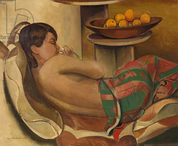 Mexican Shawl, 1938 (oil on canvas)
