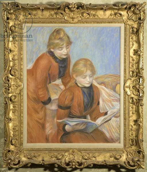 The Two Sisters, c.1889 (pastel on paper)