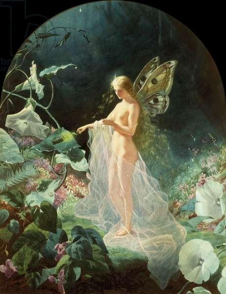 Titania, 1866 (w/c & gouache on paper)