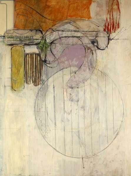 Cluster, 1962 (oil on panel)
