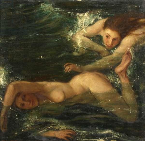 The Pursuit, 1921 (oil on canvas)