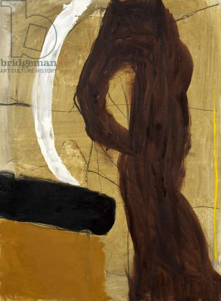 Brown Figure 1970, 1970 (oil on canvas)
