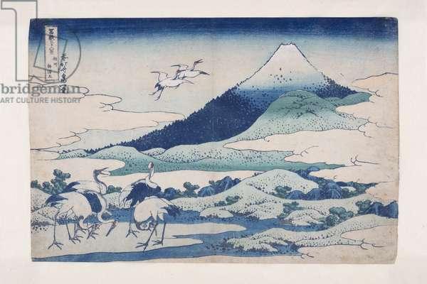 Umezawa Manor in Sagami Province (S?sh? umezawa hidari) (colour woodblock print)