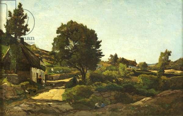Avallon, 1869 (oil on canvas)