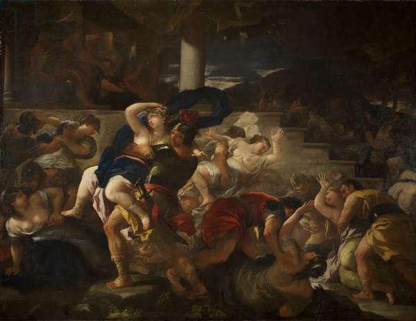 Rape of the Sabine Women, c.1675 (oil on canvas)