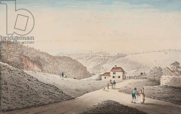 Clifton Turnpike and Avon Gorge, 1816
