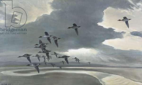 Morning Flight, 1936 (oil on canvas)