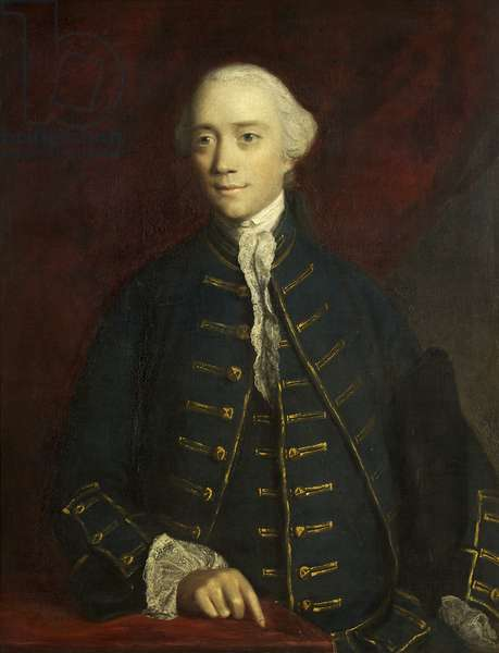 Portrait of Thomas Willoughby, 4th Baron Middleton, 1761 (oil on canvas)