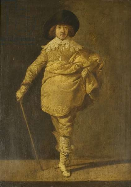 A Standing Cavalier, c.1630 (oil on panel)