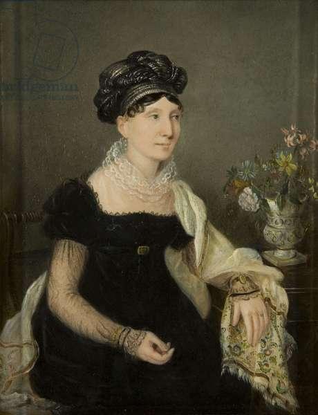 Madame Catalani, c.1821 (oil on millboard)