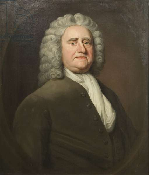 Portrait of John Jesser (oil on canvas)