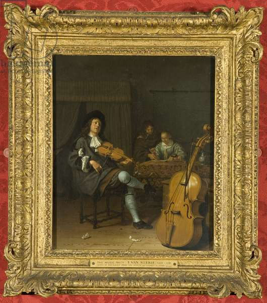 A Music Party, c.1675 (oil on panel)