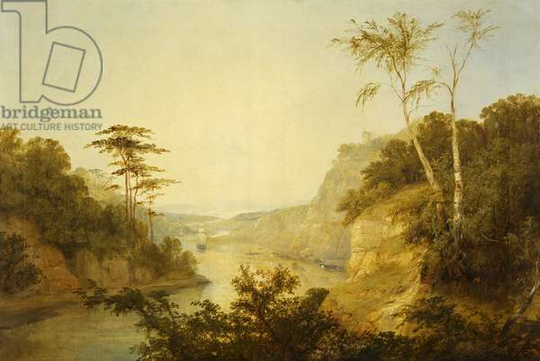 View near Clifton, 1843 (oil on canvas)
