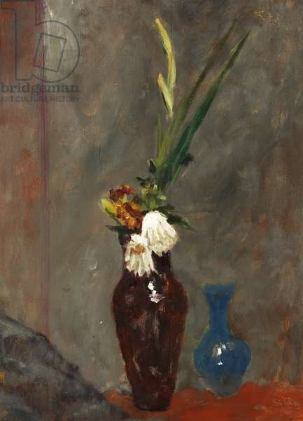 Faded Flowers, 1955 (oil on panel)