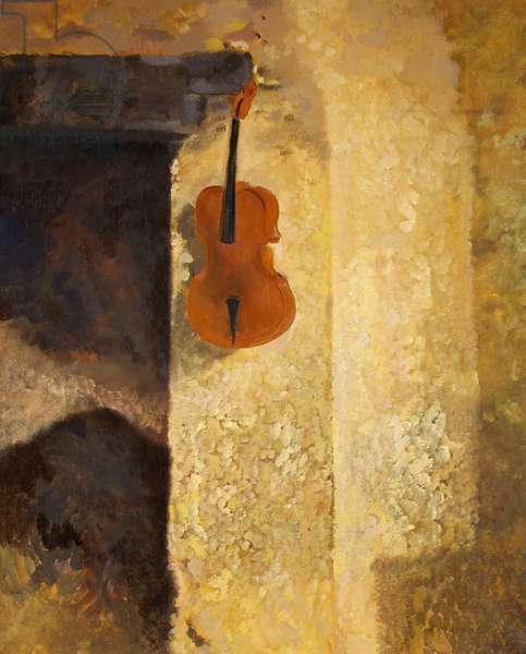Intérieur au Violin, 1975 (oil on canvas)
