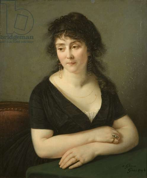 Portrait of Madame Bruyere, 1796 (oil on canvas)
