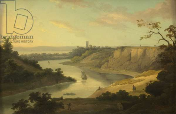 View Over the Avon, c. 1800-10 (oil on panel)