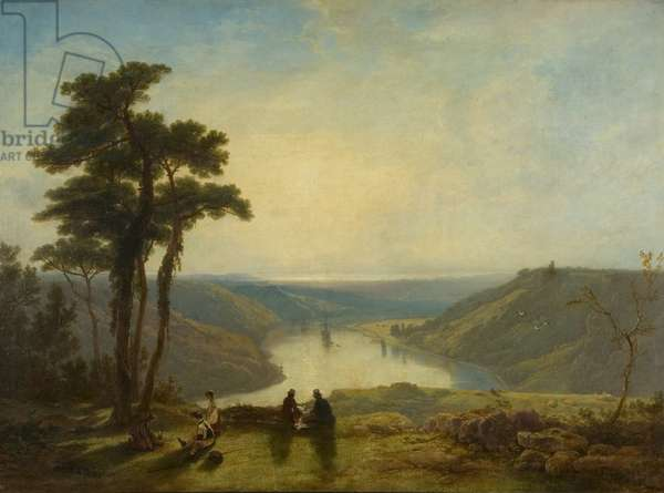 View of the Avon from Durdham Down, 1829 (oil on canvas)