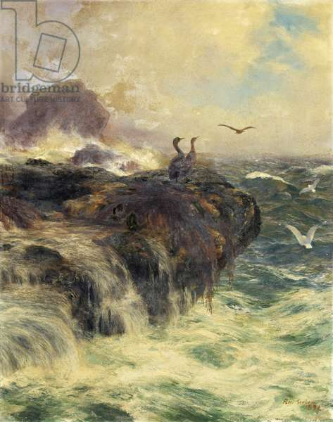Eagle's Cliff, 1891 (oil on canvas)