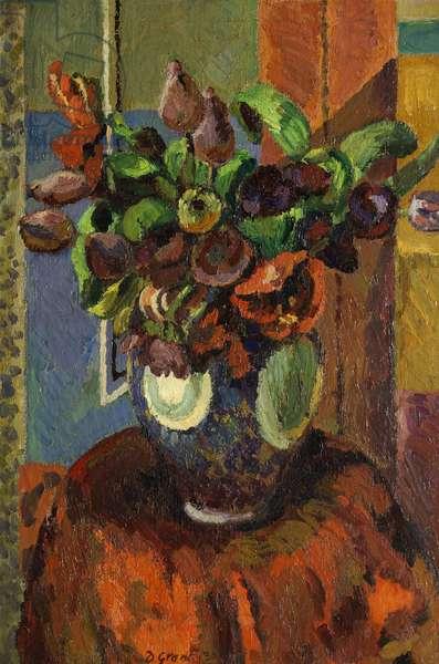 Tulips, 1930 (oil on canvas)