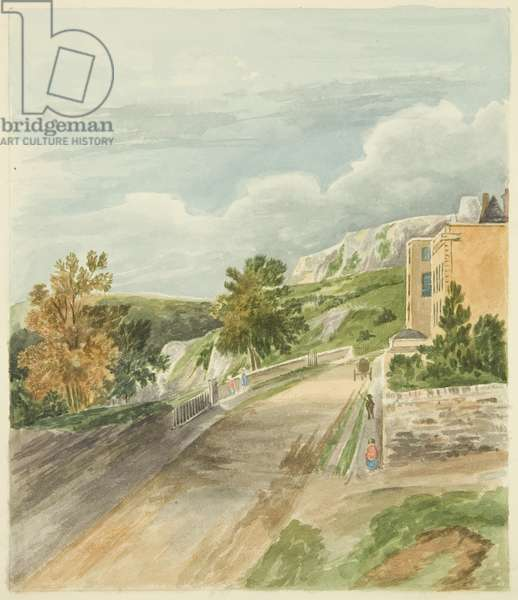 Part of Sion Hill, 1820 (w/c on paper)