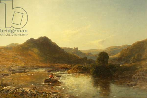 Dolwyddelan (oil on canvas)