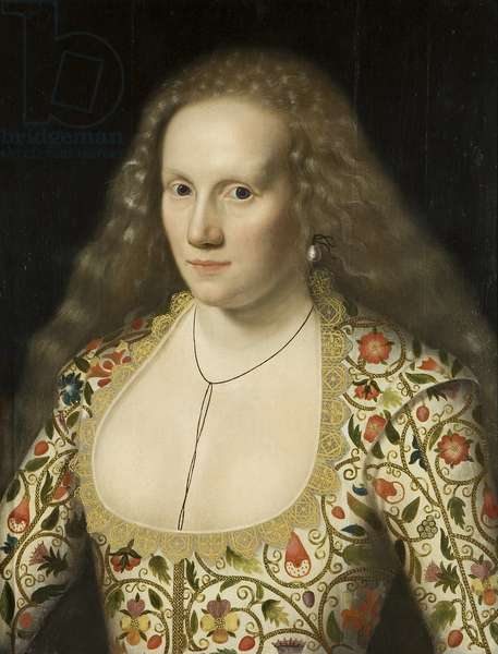 Portrait of an Unknown Lady, c.1615 (oil on panel)