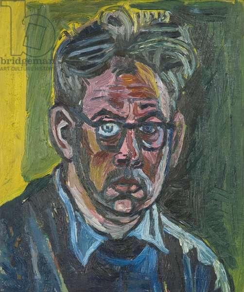 Self-portrait, 1953 (oil on hardboard)