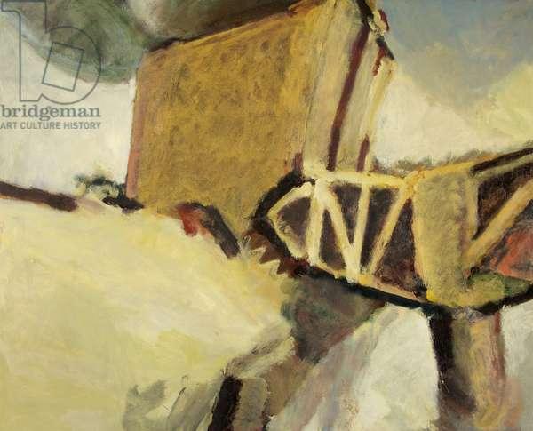 Bond Warehouses IV, 1986-87 (oil on canvas)