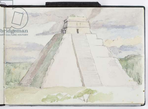 Sketchbook of Drawings and Notes, Mexico and Europe, 1903-1905