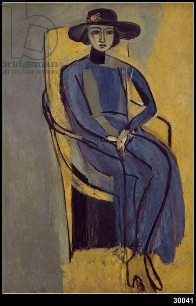 Portrait of Greta Prozor, 1916