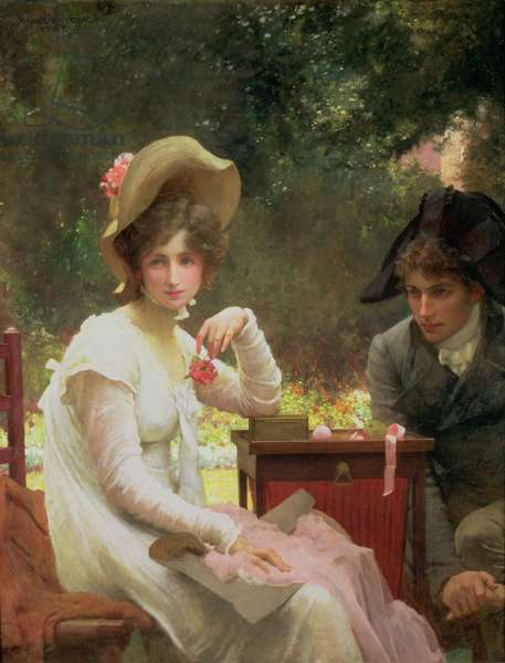In Love, 1907 (oil on canvas)