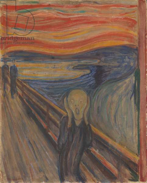 The Scream, 1893 (oil, tempera & pastel on cardboard)