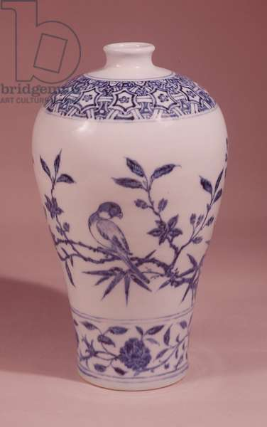 Blossom vase, Ming dynasty, from the reign of Hsuan-Te (1426-35) (porcelain)